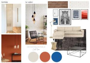 Coaching_decoration_maison_Nimes_Planche d'ambiance_Séjour